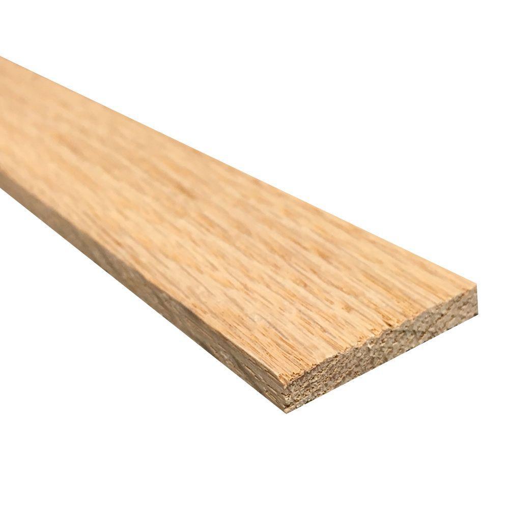 1/4 in. x 2 in. x 4 ft. Hobby Board Kiln Dried S4S Oak Board (40-Piece)