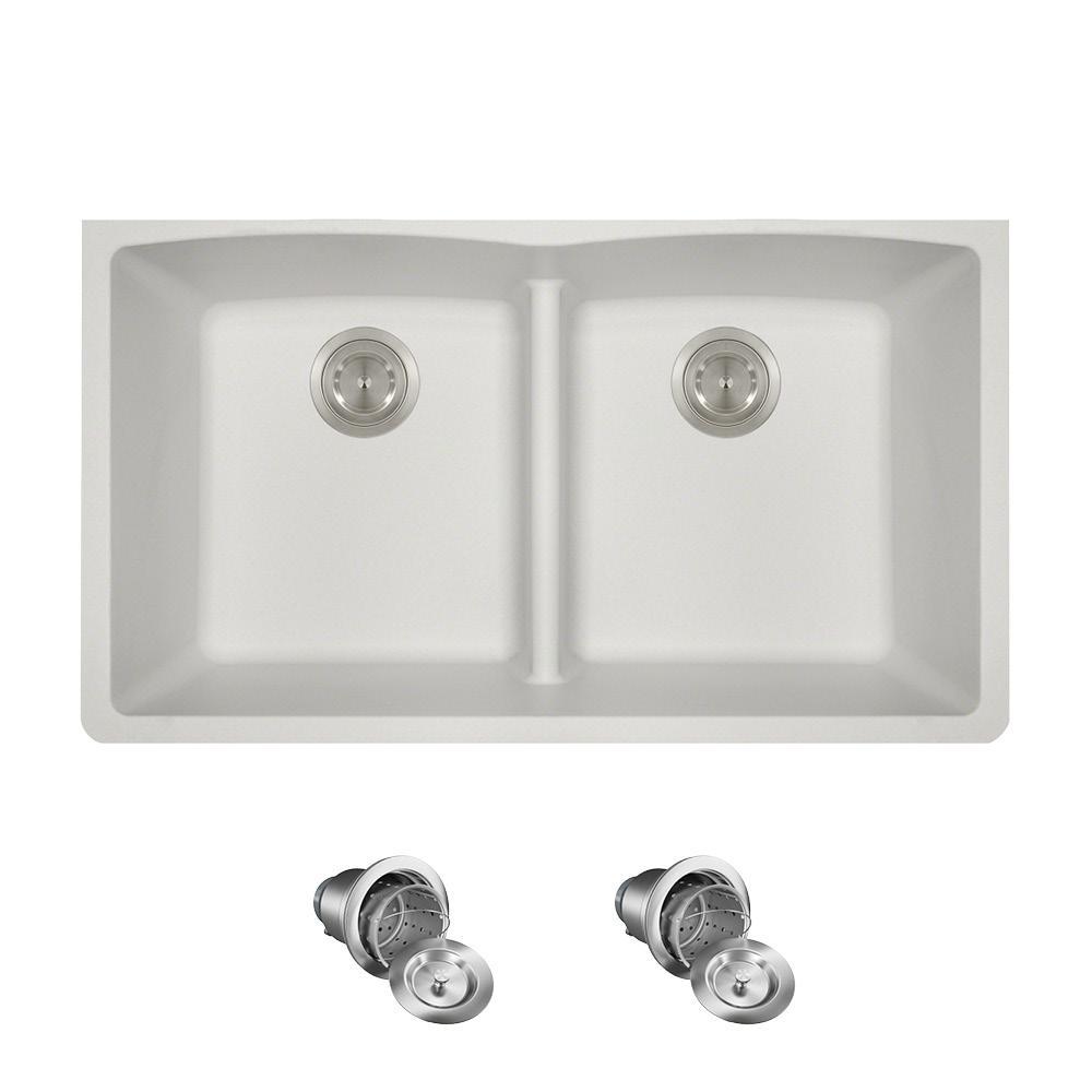 Low Divide - Undermount Kitchen Sinks - Kitchen Sinks - The Home Depot