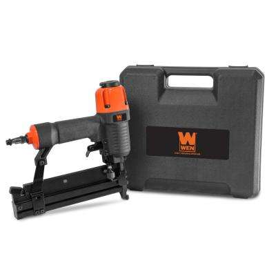 18-Gauge 2 in. 2-in-1 Pneumatic Brad Nailer and Stapler with Carrying Case and Safety Glasses