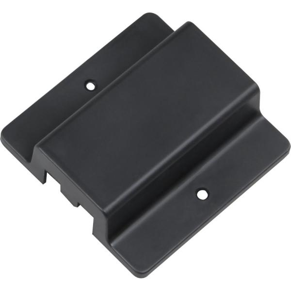 Black Floating Canopy/Floating Connector for 120-Volt 2-Circuit/1-Neutral Track Systems