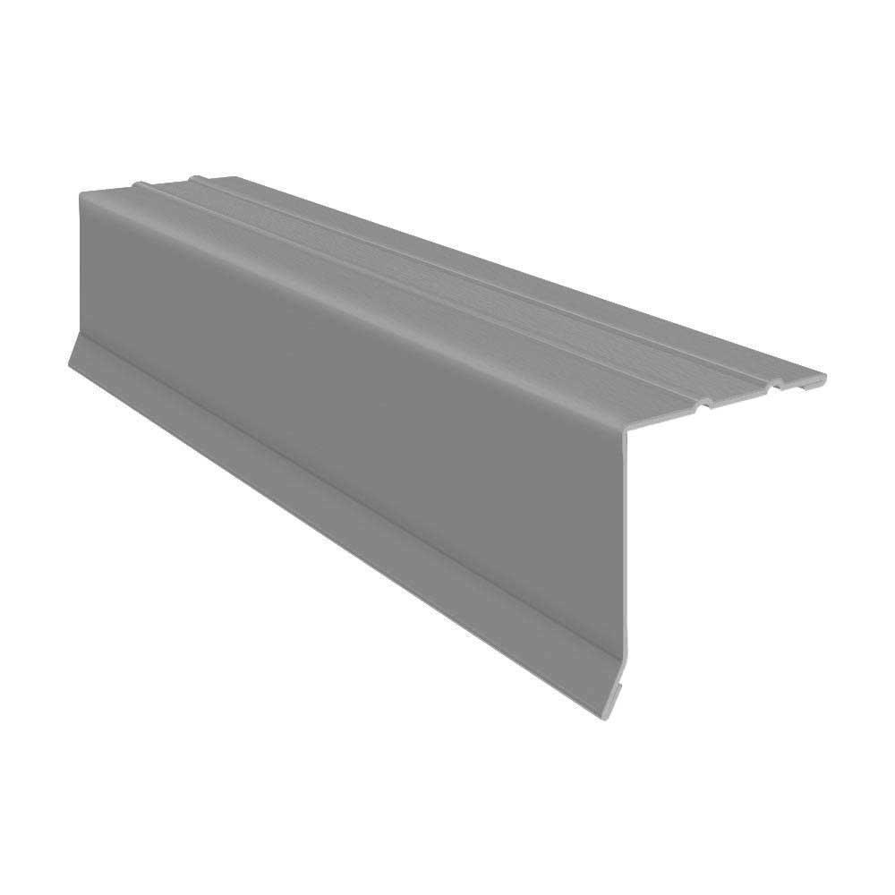 1-3/8 in. x 1-3/8 in. x 10 ft. Galvanized Steel Embossed