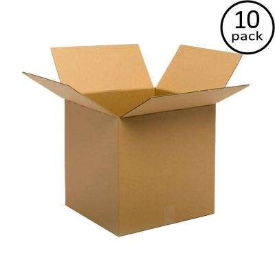 24 in. L x 24 in. W x 24 in. D Moving Box (10-Pack)
