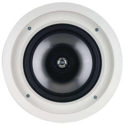 Architectural Edition Powered by JBL 100-Watt 8 in. In-Ceiling Speaker, White