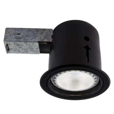 5-in. Black Recessed LED Lighting Kit with PAR30 Bulb Included