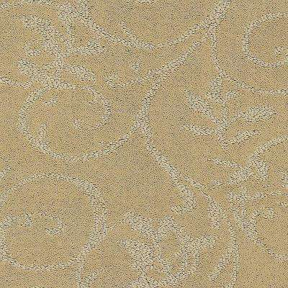 Carpet Sample - Cheriton - Color Butternut Pattern 8 in. x 8 in.