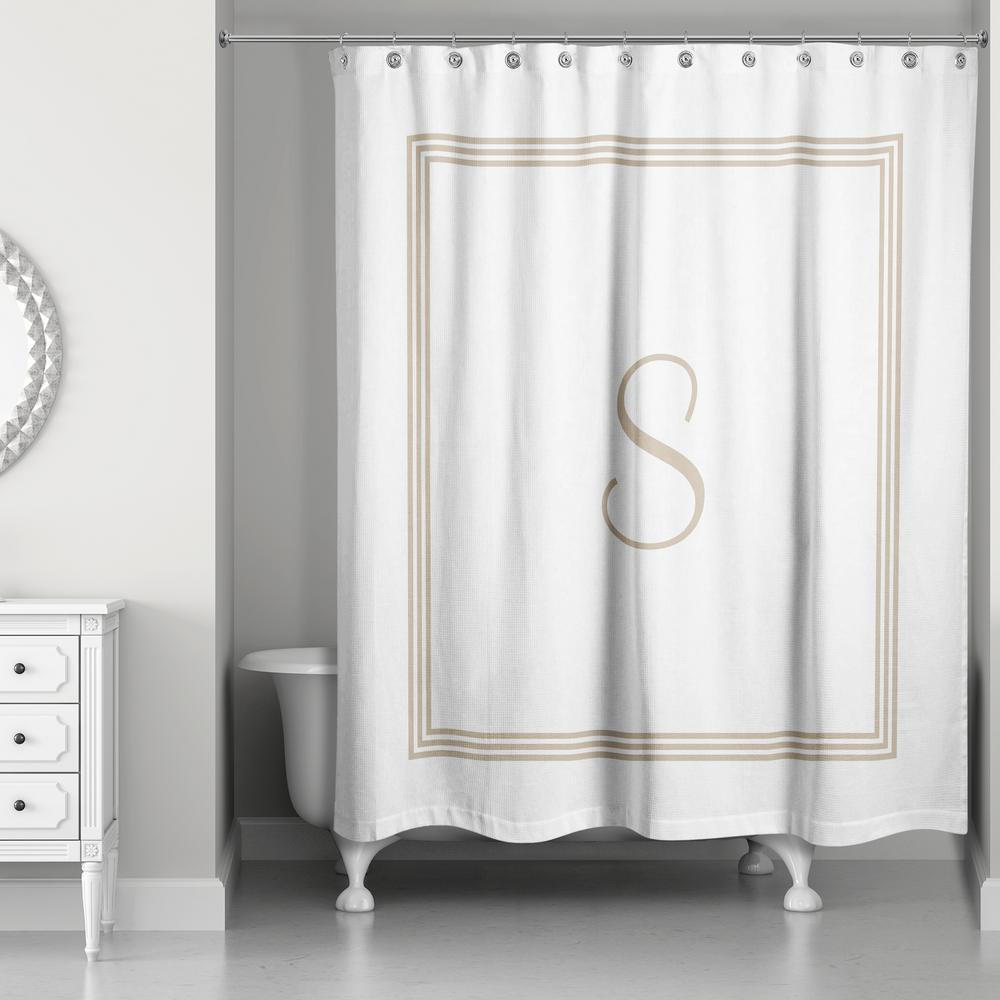 Striped - Shower Curtains - Shower Accessories - The Home Depot