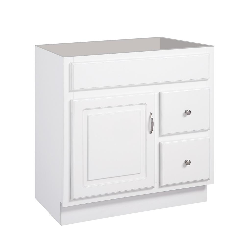 Foremost ashburn 30 in w x in d vanity cabinet in for Vanity top cabinet