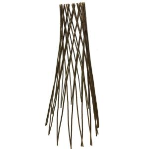 Willow Garden Trellis Plant Support with Curved Top 120cm x 45cm by Selections