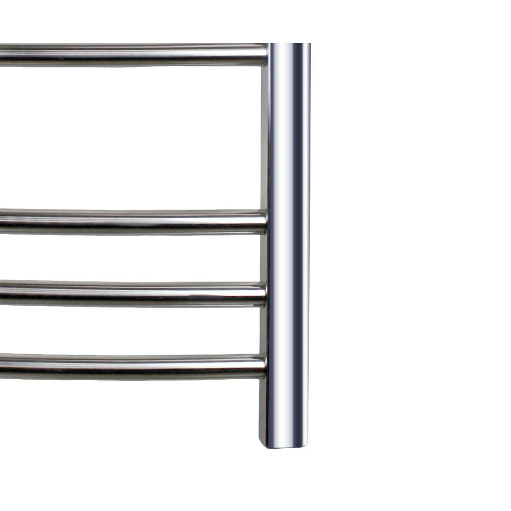 Built-in Timer with Led Indicators 6 Bars Aluminum 2 H 4 H Towel Warmer 3 Timer Modes: ON//Off Freestanding