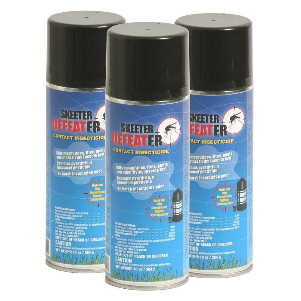 Skeeter Defeater Contact Insecticide Cylinder Refill Unit (3-Pack)