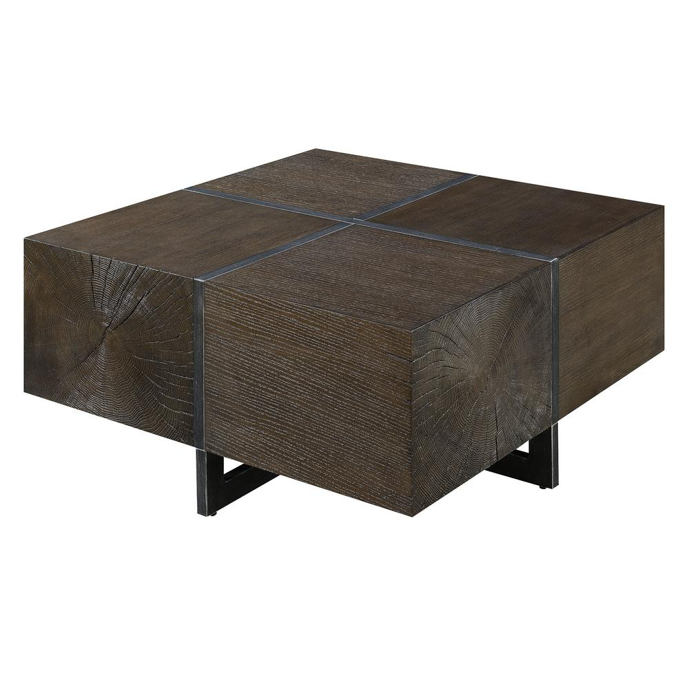 Elliot Cherry Square Coffee Table