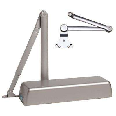 Heavy Duty ADA Commercial Door Closer with Heavy Duty Arm in Aluminum - Sizes 1-6