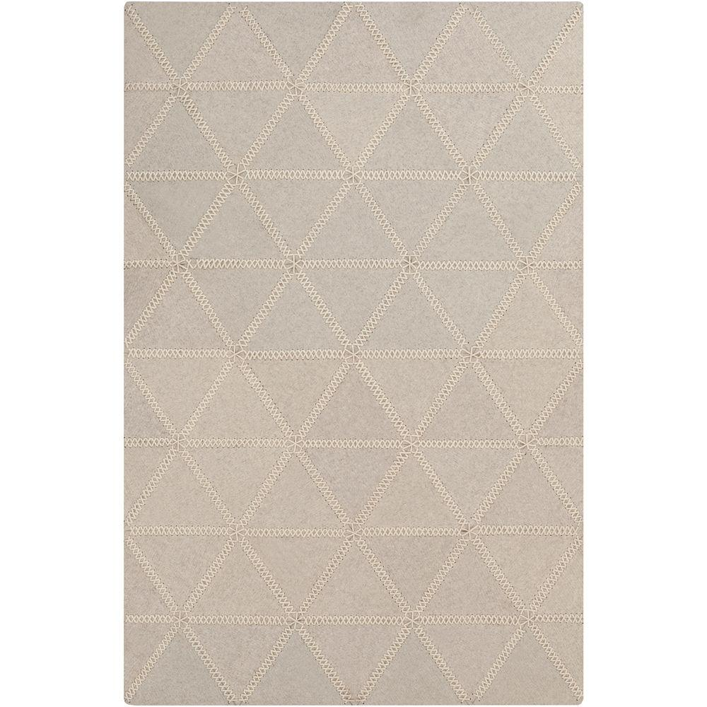 Didessa Ivory 3 ft. 3 in. x 5 ft. 3 in.