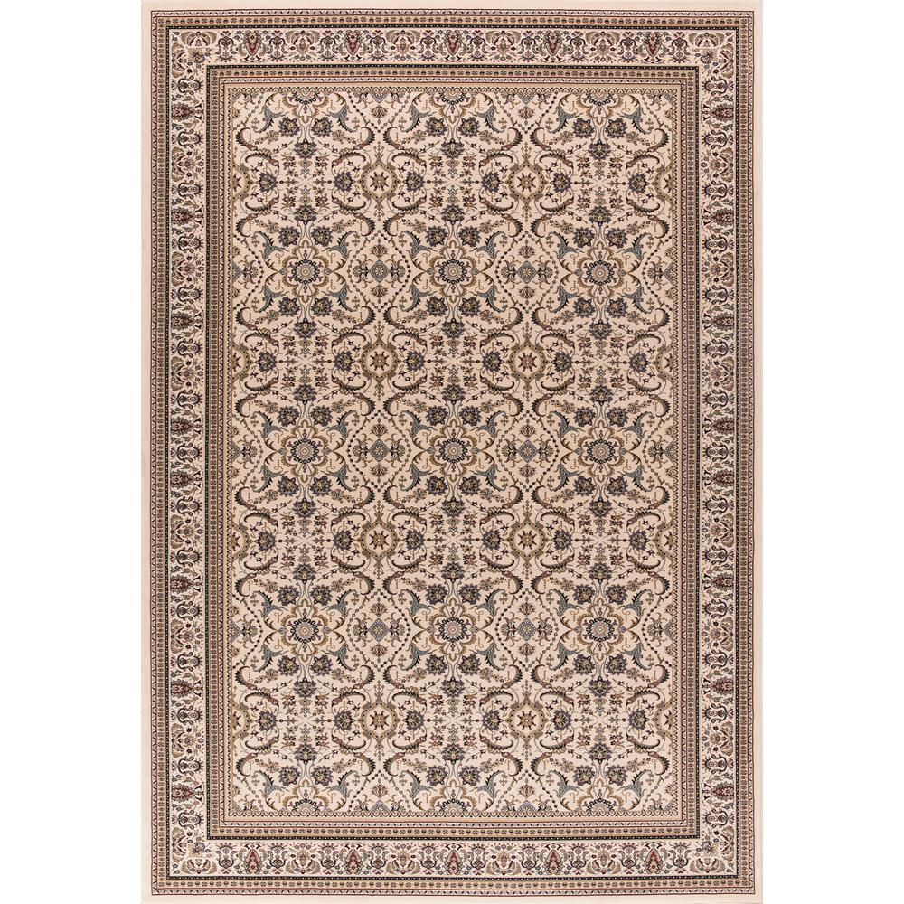 Williams Collection Izmir Ivory Rectangle Indoor 8 ft. 9 in. x