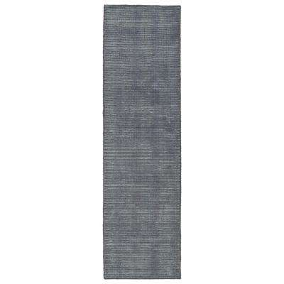 Luminary Carbon 2 ft. x 8 ft. Runner Rug