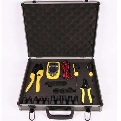 Multi-Purpose Tool with Basic Tools Needed to Install and Maintain Solar System