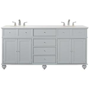 home decorators collection bathroom furniture. home decorators collection hampton harbor 72 in. w x 22 d double bath vanity in dove grey with marble top white-3885410270 - the depot bathroom furniture