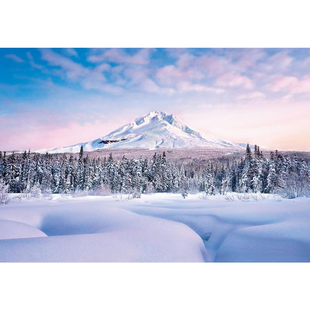 Ideal Decor 100 in. x 144 in. Mountain Graceful Wall Mural