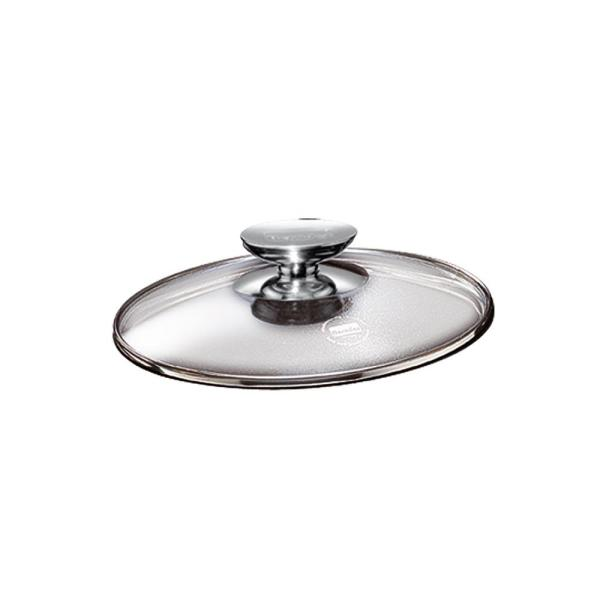 Berndes SignoCast Glass Clear Lid with Stainless Knob