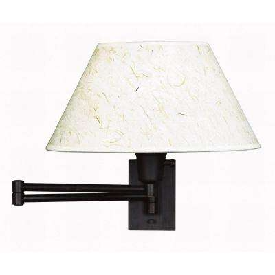 Great Bronze Wall Swing Arm Lamp