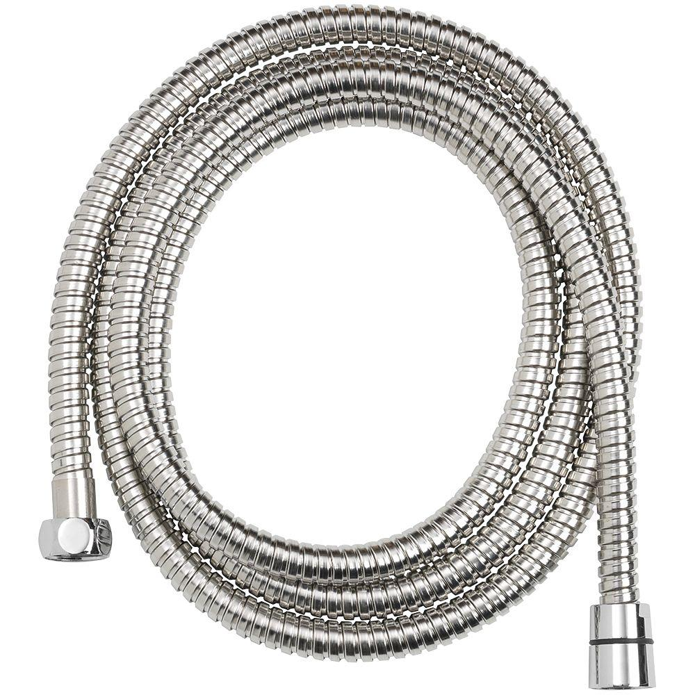 Glacier Bay 86 in. Stainless Steel Replacement Shower Hose in Chrome