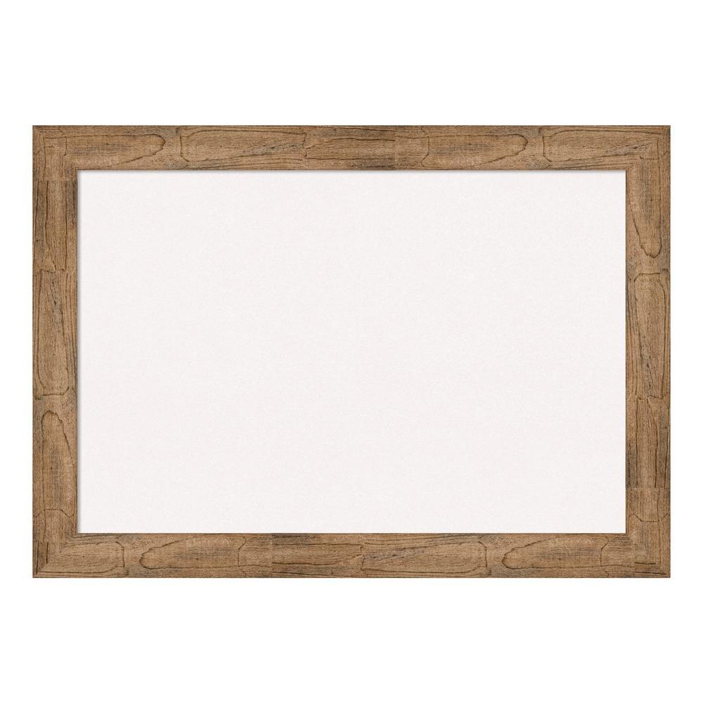 Owl Brown Framed White Cork Memo Board