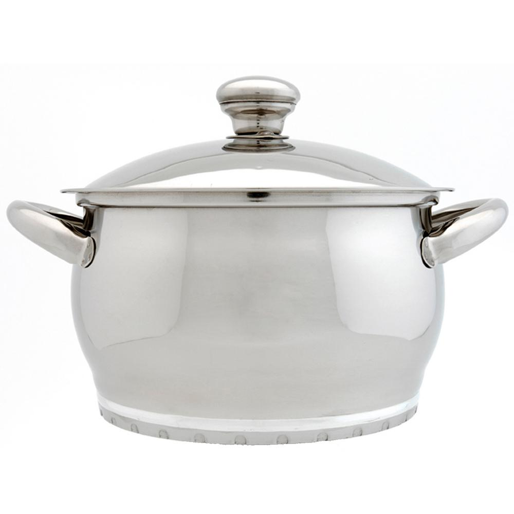 Zeno 3 Qt. 18/10 Stainless Steel Casserole with Lid, Mirrored