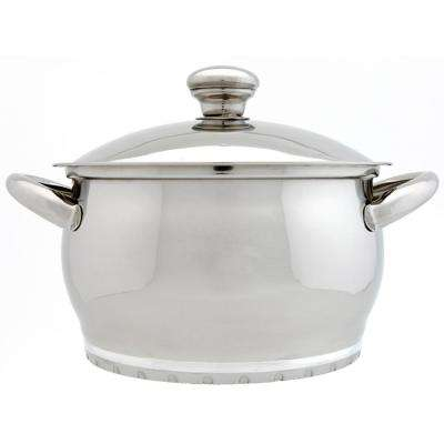 Zeno 3 Qt. 18/10 Stainless Steel Casserole with Lid