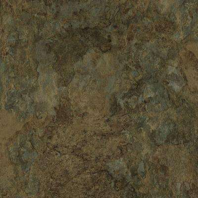 Take Home Sample - Allure Harrison Slate Luxury Vinyl Tile Flooring - 4 in. x 4 in.