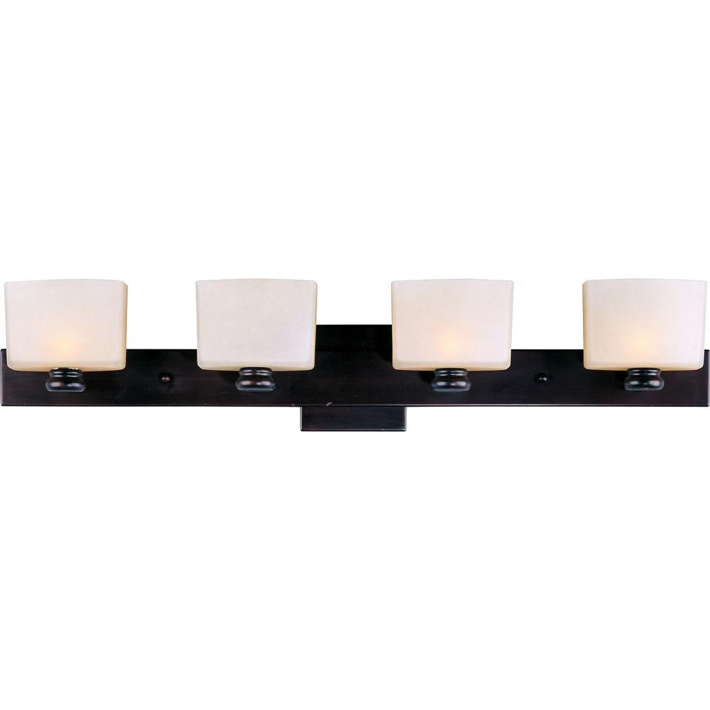 Essence 4-Light Oil-Rubbed Bronze Bath Vanity Light