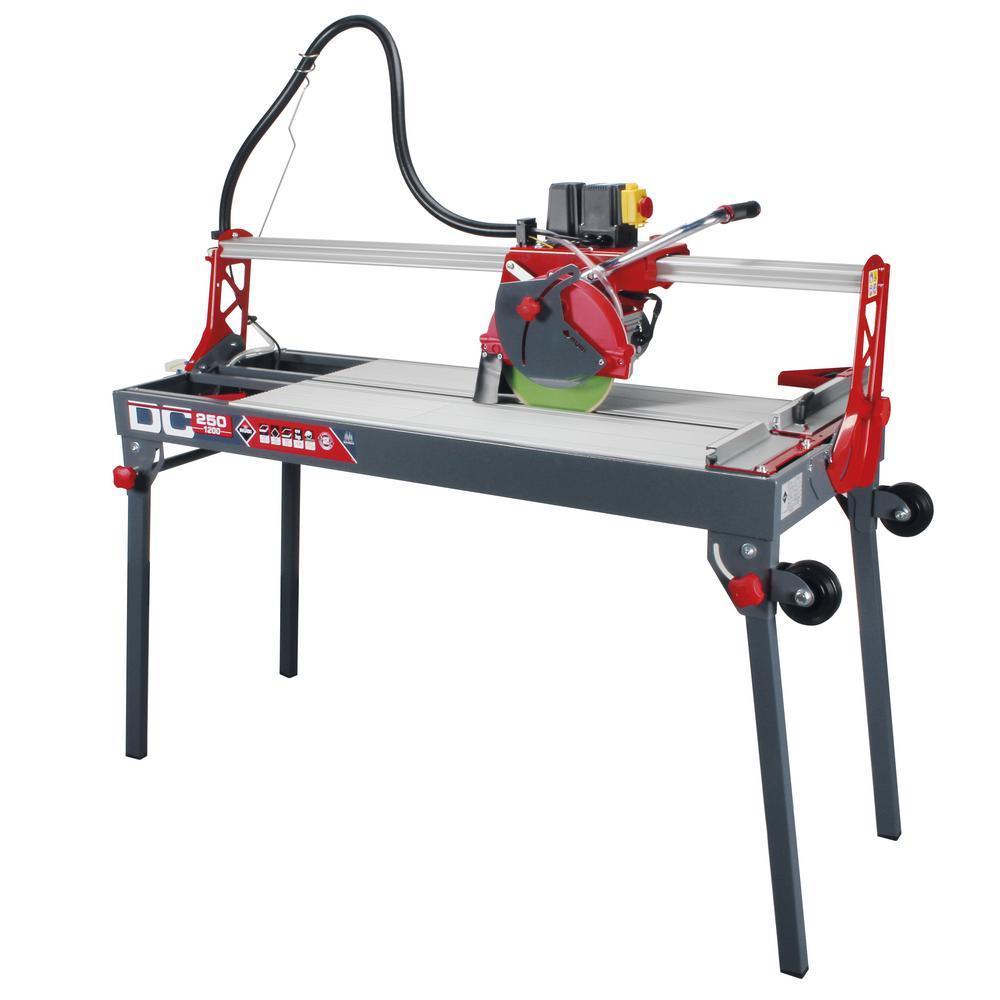 Rubi Dc 250 1200 Tile Cutting Saw 55948 The Home Depot