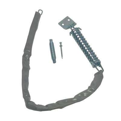 Storm Door Crash Chain with Plastic Cover