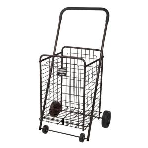 Drive Black Winnie Wagon All Purpose Shopping Utility Cart by Drive