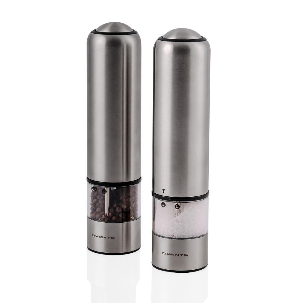 Stainless Steel Salt Pepper Shaker Portable Home Pepper Shaker Kitchen Supply 1p