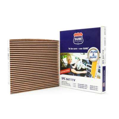 Replacement Antibacterial Cabin Air Filter for Wix WP9186 Purolator C25858 Fram CF9862