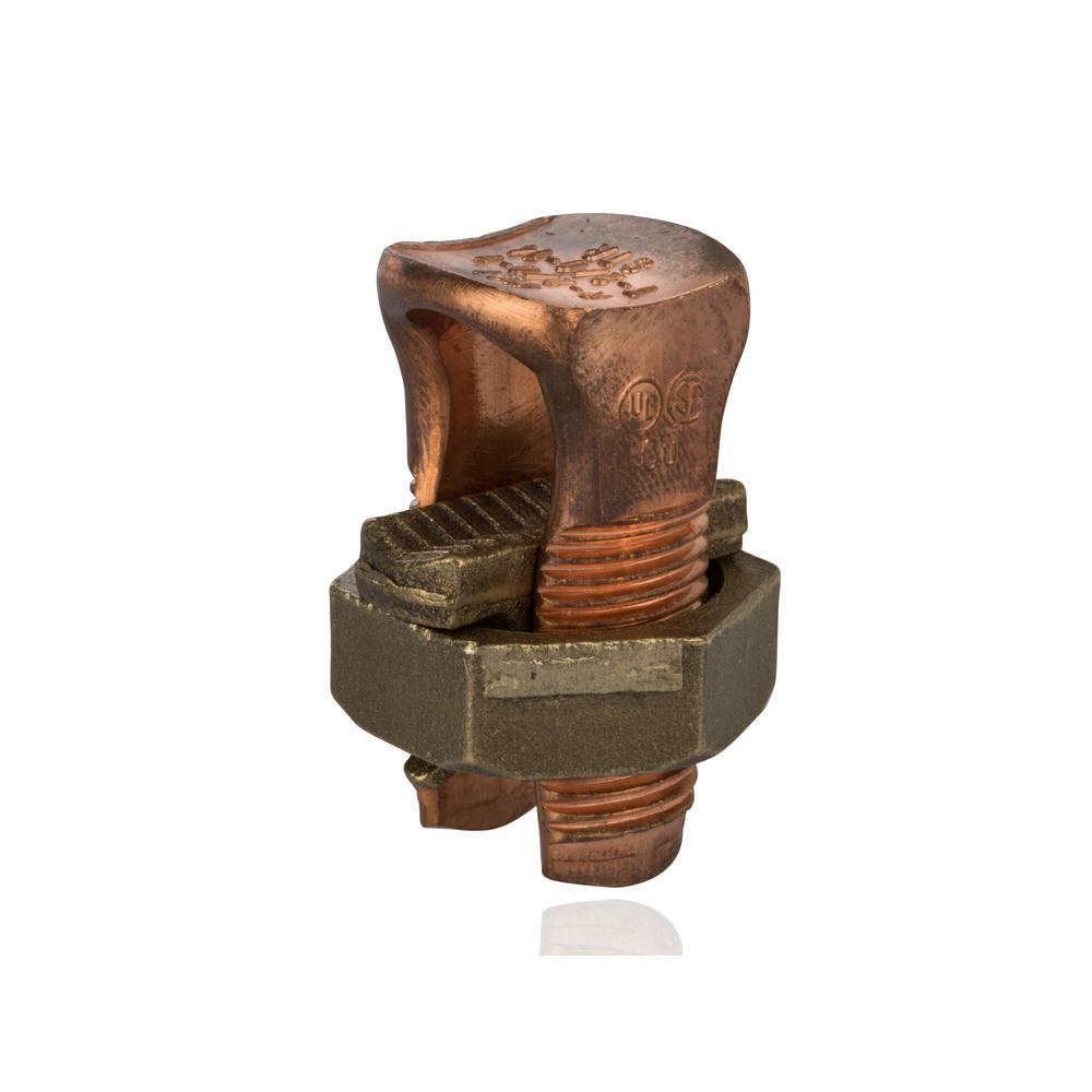 2/0 AWG Copper Split Bolt- 1 Count