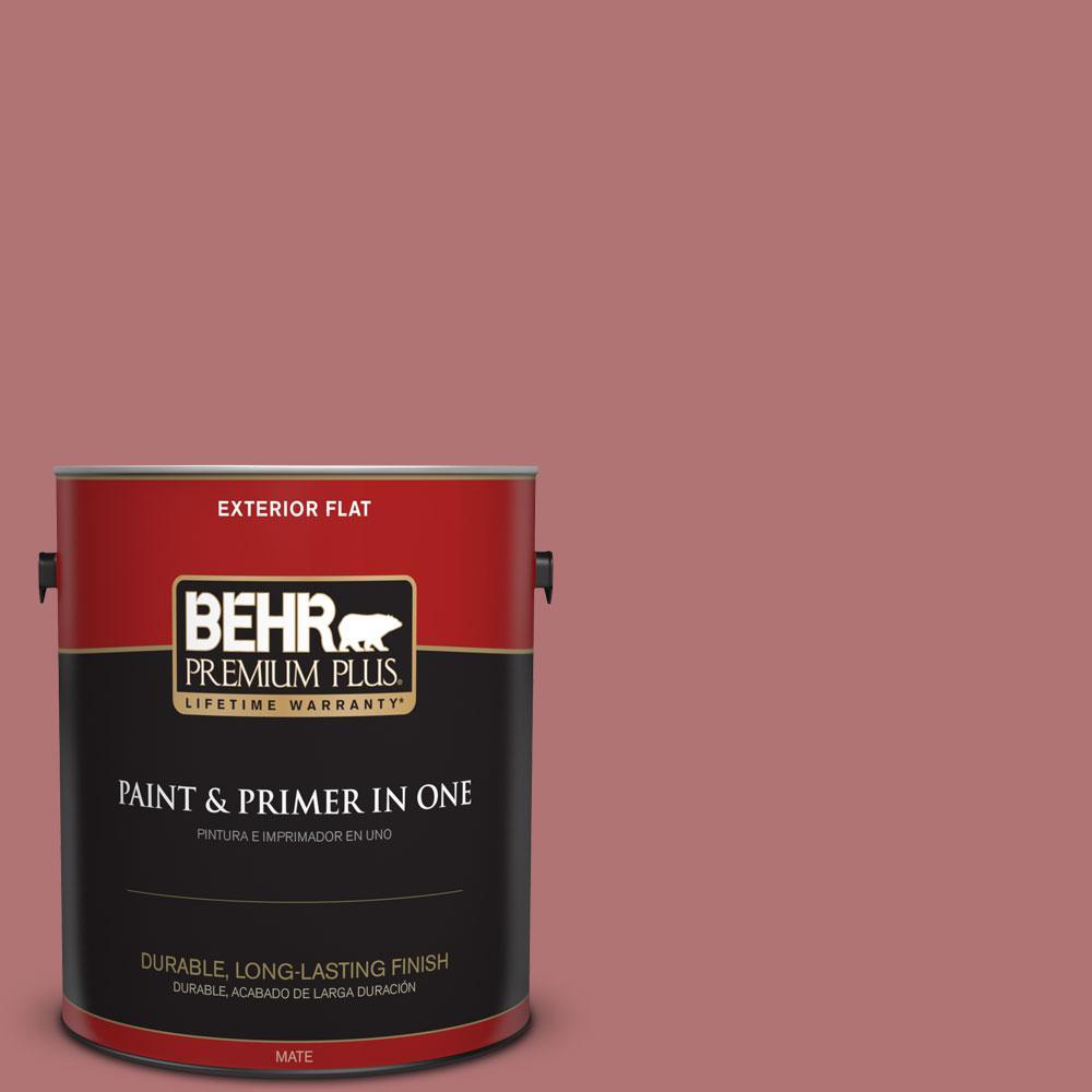 1-gal. #S140-5 Red Gerbera Flat Exterior Paint