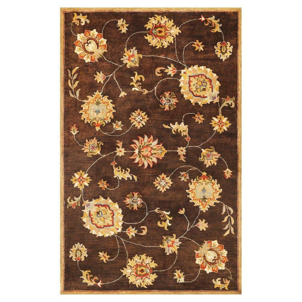 Kas Rugs Today's Mahal Mocha 8 ft. x 10 ft. 6 in. Area Rug
