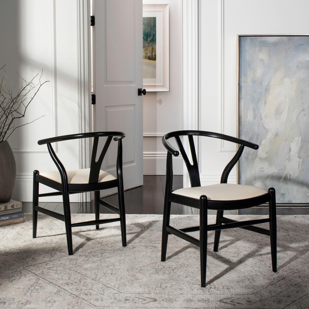 Aramis Black Dining Chair (Set of 2)