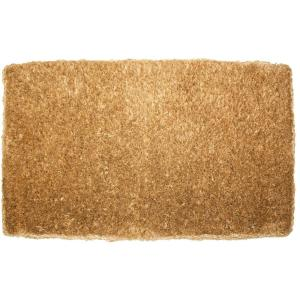 Plain Imperial Coco 18 inch x 30 inch Coir Outdoor Doormat by