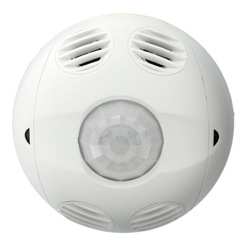 Multi-Technology Passive Infrared/Ultrasonic 1000 sq. ft. 360-Degree Ceiling Mount Occupancy Sensor, True White
