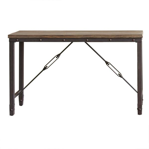 Jersey Tobacco Industrial Sofa Table