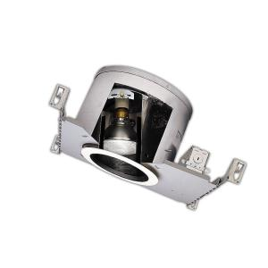 Halo H47 6 inch Aluminum Recessed Lighting Housing for New Construction Sloped Ceiling, Insulation Contact by Halo
