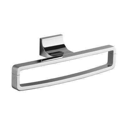 Loure Towel Ring in Polished Chrome