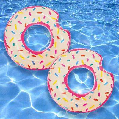 Donut Tube Pool Float (2-Pack)