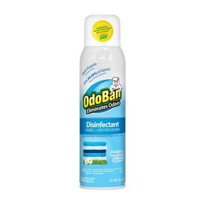 14.6 oz. Fresh Linen Disinfectant, Fabric and Air Freshener, Mold and Mildew Control, Multi-Purpose Continuous Spray