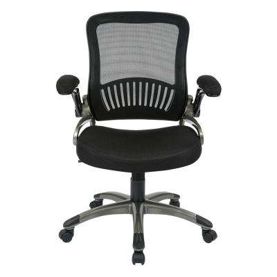 Black Mesh Seat Manager's Chair