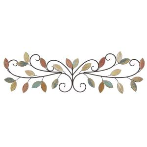 Stratton Home decor Wooden Leaves Over the Door Wall Decor-S07680 ...