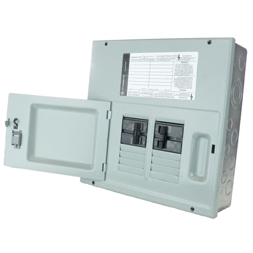 60Amp 8- Space 120/240V Single Phase 3 Wire NEMA 3R Generator