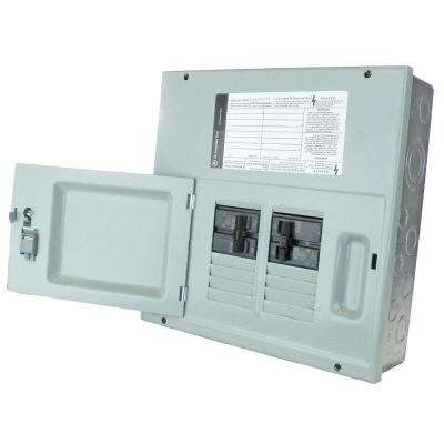 60Amp 8- Space 120/240V Single Phase 3 Wire NEMA 3R Generator Panel
